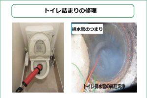 トイレつまり解消業者